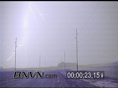 8/12/2000 Vivid Lightning near Blue Earth, MN
