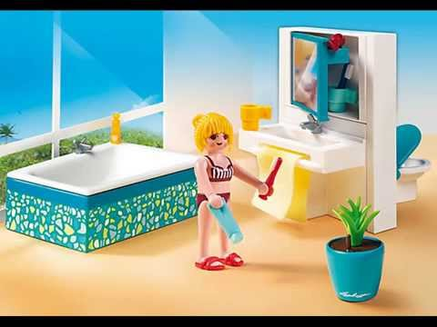 Nouveaut s playmobil 2015 th me de la villa moderne de luxe youtube for Maison moderne playmobil