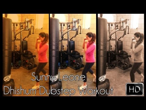 Sunny Leone's Dhishum Dubstep Workout | Hd video