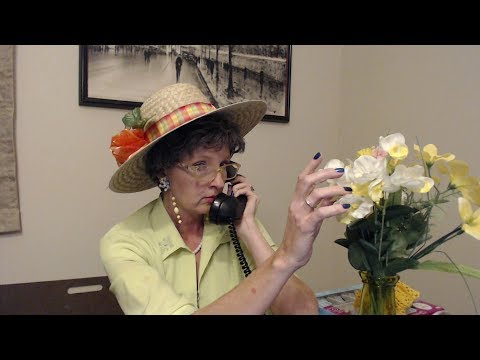 ASMR Roleplay ~ 1940s Gossipy Woman On Telephone