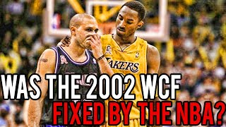 Was The 2002 Wcf Lakers Vs Kings Fixed By The Nba