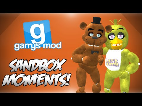 GMod Sandbox! - FIVE NIGHTS AT FREDDYS SPECIAL! (Funny Moments)