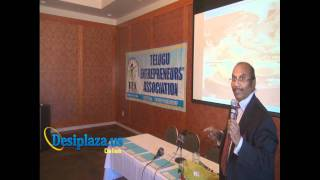 Part 6 : Billionaire Dr. M S Reddy giving Speech @ TEA
