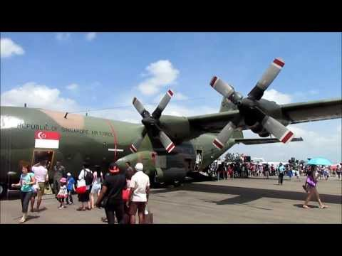 Singapore Airshow 2014 Static Display Highlights