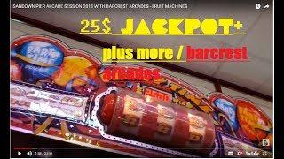 uk arcades sandown pier fruit machine session!!!!!!  -  with barcrest arcades 2018 -  i.o.w uk