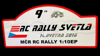 RC Rally Svetla - Rc Rally 2016