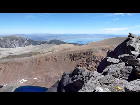 Mono & Dana Lakes 110817 Video