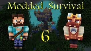 Minecraft: Modded Survival Ep.6 - A Mature Dragon