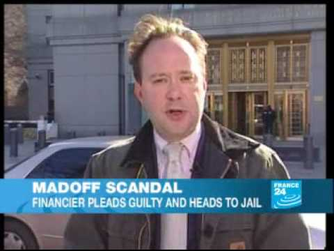 Madoff: financier pleads guilty and heads to jail