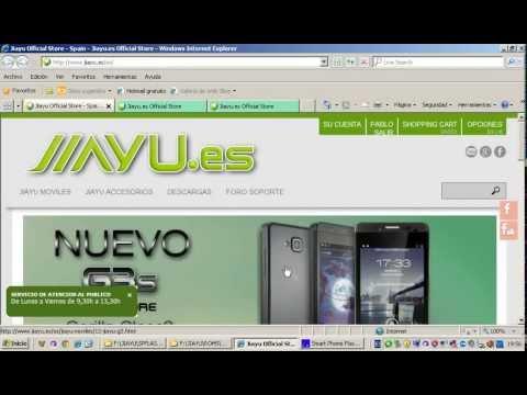 Instalar Rom Completa por SPFlash tool JIAYU.es