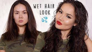Wet Hair Tutorial | Maryam Maquillage