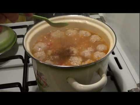 Как варить фрикадельки - видео