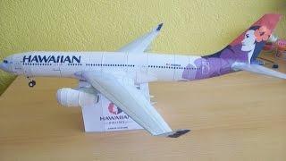 Hawaiian Airlines A330 200 Papercraft