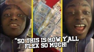 Kodak Black Finds The Secret To Rappers Flexing!