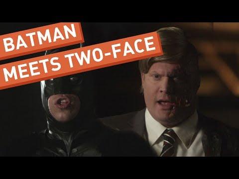 Batman Meets Two-Face