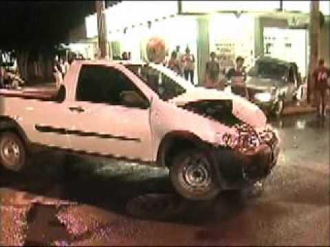 Homem fica ferido em acidente no bairro Planalto