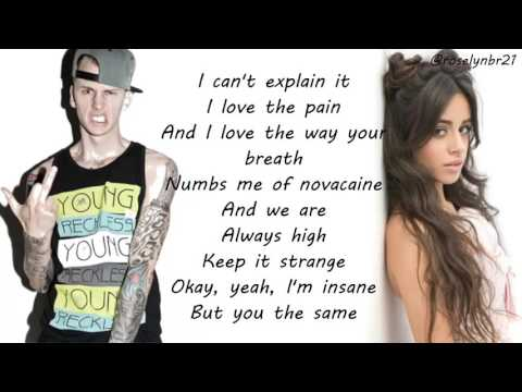 Machine Gun Kelly & Camila Cabello - Bad Things (Lyrics)