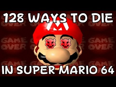 128 ways to die in Super Mario 64