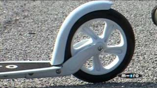 Kick Scooters for Adults - The Black and White Scooter