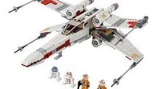 Lego 9493 Star Wars X-wing review!