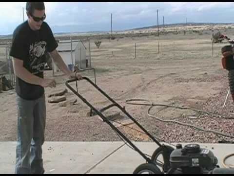 craftsman lawn mower redneck repair