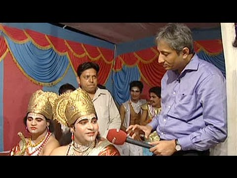 The Dedication And Piousness Of Ramlila Performers video
