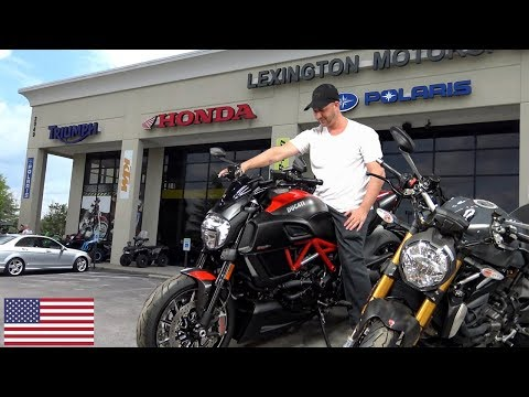 Visiting - Lexington Motor Sports - Motorcycle Shopping