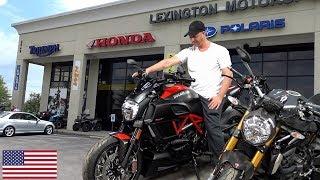 Visiting - Lexington Motor Sports - Motorcycle Shopping