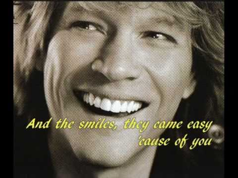 Bon Jovi - Every Word Was A Peice Of My Heart
