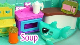 LPS - Soup & Homework - School Of Sharks Series Video Movie Littlest Pet Shop Part 6 Cookieswirlc