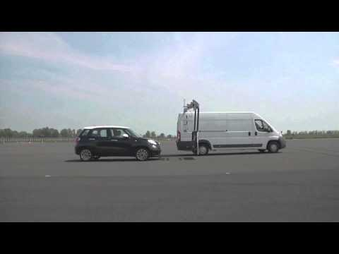 FIAT City Brake Control (с-ма торможения на низкой скорости) | Euro NCAP Advanced | Победитель 2013