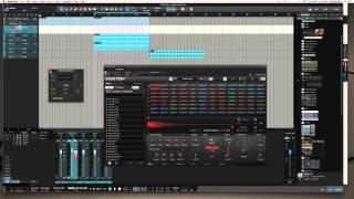 Basic EDM Using Massive & Battery 4 | Studio One 3