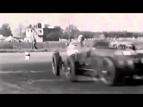 Old Car Races and Crashes