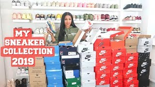 MY SNEAKER COLLECTION 2019 | SHERLINA NYM