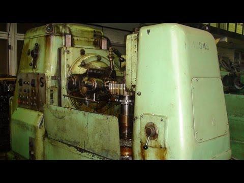 Настройка зубофрезерного станка 5К32  GEAR WHEEL