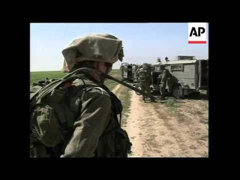 Gaza militants cross border into Israel and battle troops; 2 militants dead