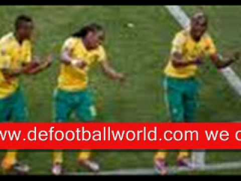 #THE WORLD CUP FOOTBALL MATCH (SOUTH AFRICA 1 VS 1 MEXICO) JUNE 11,2010