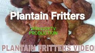 PLANTAIN FRITTERS VIDEO||JAMAICAN PLANTAIN FRITTERS/RECIPE||PLANTAIN||:ISSA JAMAICAN FOOD VLOG#8