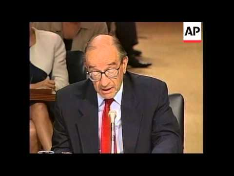 USA: WASHINGTON: GREENSPAN GIVES ECONOMY CLEAN BILL OF HEALTH
