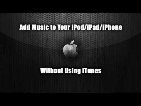 How to Transfer Music to Your iPod/iPad/iPhone Without Using iTunes
