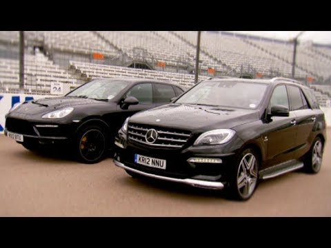 Cayenne Turbo vs ML63 AMG - Fifth Gear