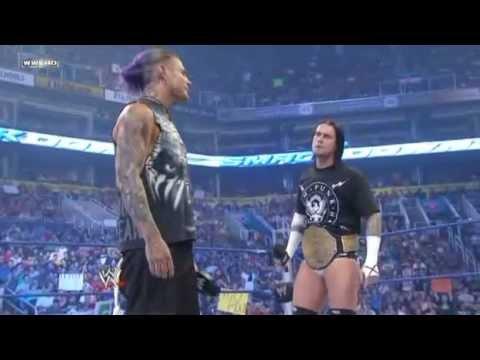 Jeff Hardy Confronts Cm Punk - Smackdown 8.28.2009 video