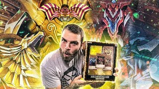 *VERY RARE* YuGiOh Millennium Box GOLD Edition Opening | GOD CARDS & EXODIA!? OH BABY!!