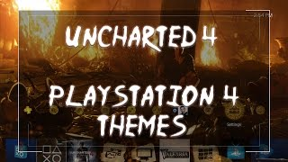 Uncharted 4 PS4 Themes