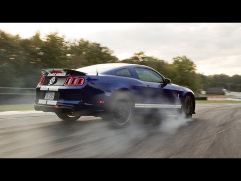 2013 Ford Mustang Shelby GT500 – 2013 Lightning Lap – LL3 Class – CAR and DRIVER