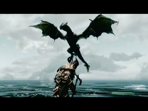 The Elder Scrolls SKYRIM : HOW TO GET TO THE SECRET DRAGON