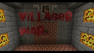 Villager war - The Trailer - Minecraft minigame