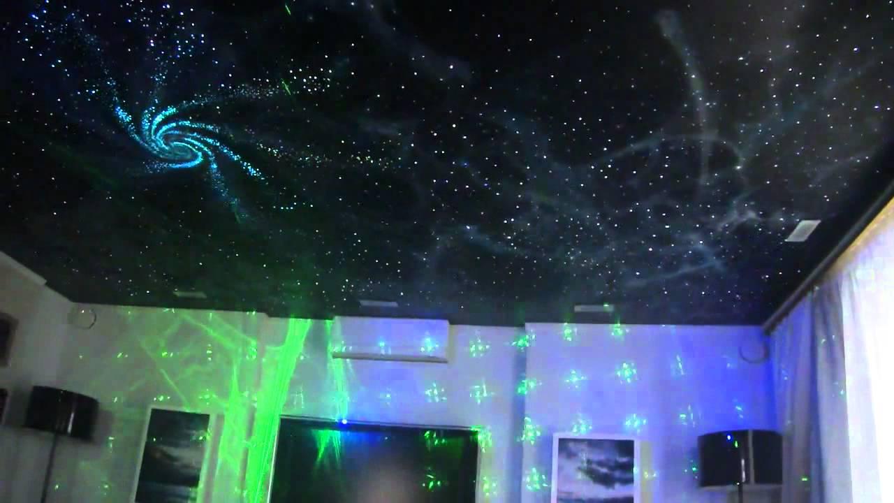 Как на потолке сделать звездное небо на