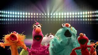 Elmo, Zoe, Rosita and Telly-Bop to the Top
