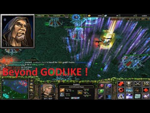 DotA 6.83d - Rubick, Grand Magus Beyond GODLIKE !